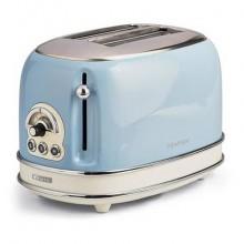 Toaster Vintage a 2 fette celeste - 6 livelli di doratura 155/05