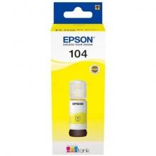 Inchiostro in bottiglia Epson 104 EcoTank giallo EPSON C13T00P440