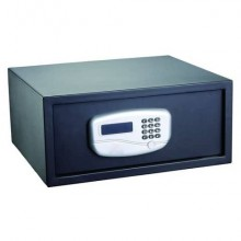 Cassaforte digitale motorizzata i.DEKT Pin 6 o 8 cifre - 43,2x37x19,5 cm nero SS0432JA