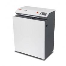 Macchina perfora cartoni HSM Profipack P425 con adattatore per depolverizzatore 220 V - grigio chiaro/ferro - 1531054