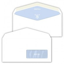 Buste con finestra Pigna Envelopes Kristall 80 g/m² 110x230 mm bianco conf. 500 - 0388923