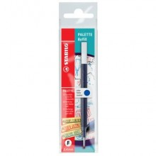 Refill per penna roller a scatto Palette Stabilo blu Conf. 10 pezzi - 268/041-01