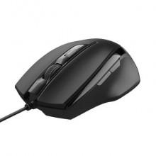 Mouse con filo Trust Voca Comfort 800-2400 dpi USB 2.0 nero - cavo 160 cm 23650