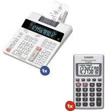Kit 1 Calcolatrice scrivente Casio FR-2650RC + Calcolatrice tascabile Casio Casio HL-820VA
