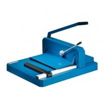 Taglierina a ghigliottina Dahle con pressino rapido blu R000842