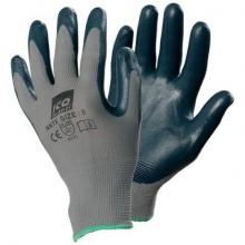 Guanti riusabili Icoguanti in nylon/nitrile L blu NNTXLARGE