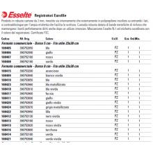 Registratori con custodia Esselte G53 EUROFILE commerciale D8 cartone rivestito in PP rosso vivida - 390753920