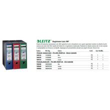 Registratore 180° in plastica Leitz con dorso da 8 cm A4 rosso 10105025