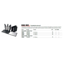 "Portatabulati universali King Mec 12"" x 41 cm PKM4100"