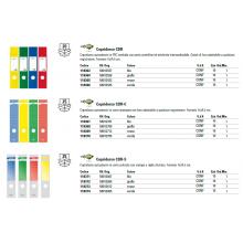Copridorso autoadesivi Sei Rota CDR-S 7x34,5 cm verde Conf. 10 pezzi - 58012605