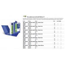 Raccoglitore personalizzabile Sei Rota Nettuno TI - 4 anelli a D bianco 36832501
