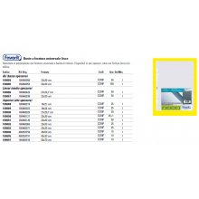 Buste trasp. a foratura universale FAVORIT liscie superior 35x50cm conf. da 10 - 400053759