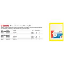 Buste a perforazione universale lisce Esselte DE LUXE 22x30 cm trasparente lucido  conf.50 - 395097500