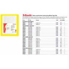 Buste a perforazione universale goffrate Esselte DELUXE PP antiriflesso 22x30 cm conf.25 - 392597600