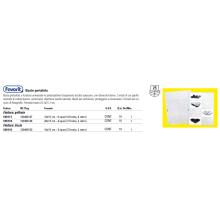 Buste trasp. a foratura universale FAVORIT portafoto liscia top 10x15 cm (x4 tasche)  Conf. 10 pz - 100460150