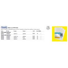 Buste trasp. a L FAVORIT buccia d'arancia superior 22x30 cm conf. da 50 - 100460050