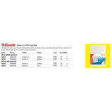 Buste a L Esselte DELUXE 22x30 cm trasparente antiriflesso conf.50 - 395084000
