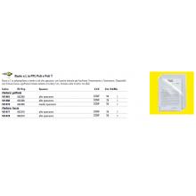 Cartelline a L in PP Sei Rota Poli 150 trasparente 50 pz. - 662303