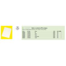 Cartellina a L Q-Connect ppl ecologico A4 trasparente opaco conf. da 100 - KF00310