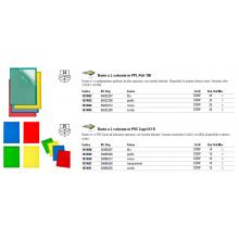 Cartelline a L in PVC Sei Rota Capri 61 colorato - altissimo spessore giallo 10 pz. - 26306206