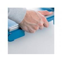 Taglierina a leva Dahle con pressino automatico blu luce 360-3,5 mm R000561