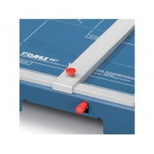 Taglierina a leva Dahle con pressino automatico blu luce 460-3,5 mm R000867