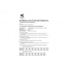 Cartella portaprogetti a 3 lembi DISPACO 25x35 cm polionda cannettato bianco trasparente dorso 4 cm - 3604