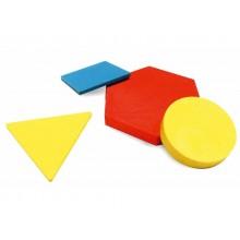 Forme logiche ARDA 5 forme/3 colori/2 grandezze/2 spessori colorati Conf. 60 pezzi - 122