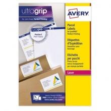Etichette bianche per indirizzi AVERY per pacchi 99,1x139mm 15 fogli - L7169-15