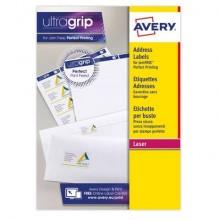 Mini etichette per indirizzi Avery 38,1x21,2 mm bianco Laser 65 et./foglio Conf. 15 fogli - L7651-15