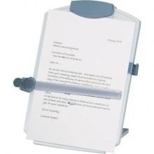 Leggio per computer Desktop Easel Copyholder Q-Connect A4 grigio chiaro KF04521