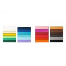Cartoncini Prisma FAVINI 10 PRISMA monoruvidi colorati 220 g/m² 70x100cm grigio 15  conf.10 - A33W0A1