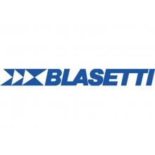 Registro cartonato Blasetti con cucitura filo refe - 96 ff 70 g/m² A4 - quadr. 5 mm - 1344