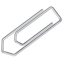 Fermagli Q-Connect filo d'acciaio nichelato 20 mm conf. da 100 - KF01306 (Conf.10)