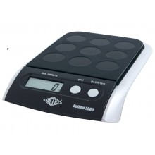 Bilancia pesalettere WEDO® Optimo 5000 elettronica nero 0485001