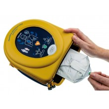 Defibrillatore HEARTSINE Samaritan Pad 350P giallo/blu def021