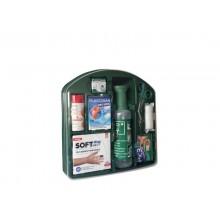 Kit Pronto soccorso oculare PVS 9 prodotti per lavaggio, ustioni e medicazione verde - cps999