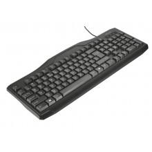 Tastiera con cavo da 1,8 m Trust ClassicLine nero 20521