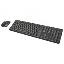 Set Tastiera e mouse wireless Trust XIMO nero 21134