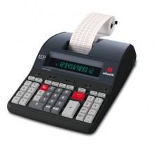 Calcolatrice scrivente da tavolo 3,6 linee/secondo OLIVETTI Logos 912 con display LCD a 12 cifre nero - B5897 000