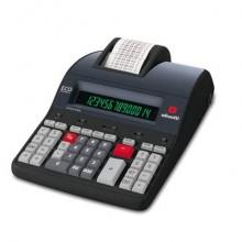 Calcolatrice scrivente da tavolo 10 linee/secondo OLIVETTI Logos 914T display LCD a 14 cifre nero - B5898 000