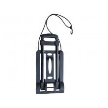 Carrello portapacchi Serena Group In metallo e plastica grigio / nero GZS30