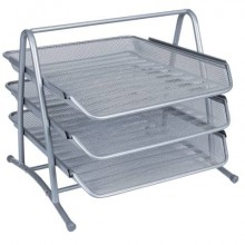 Set 3 Vaschette portadocumenti Q-Connect 27,8x27,5x35 cm KF00822
