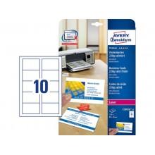 Biglietti da visita personalizzabili AVERY 85 x 54mm 25 fogli - C32016-25