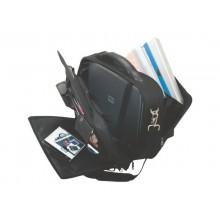 Borsa portacomputer Lightpak ARCO in poliestere 40,5x33x16 cm nero 46010