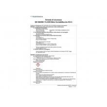 Detergente concentrato per pavimenti Sanitec Igenic Floor Mela verde & Bacche - 5 Kg - 1437
