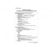 Detergente concentrato per pavimenti Sanitec Igenic Floor Fiori d'arancio & Bergamotto - 1000 ml - 1433-S