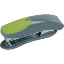 Cucitrice fino a 12 fogli Q-Connect grigio/verde KF00991