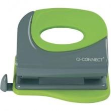 Perforatore a due fori Q-Connect fino a 20 ff grigio/verde KF00995