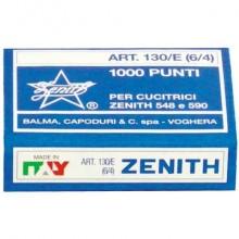 Punti metallici ZENITH 130/E 6/4  Conf. 1000 pezzi - 0311301401 (Conf.10)